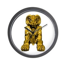 Ram Headed Sphinx Wall Clock
