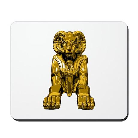 Ram Headed Sphinx Mousepad