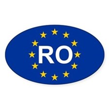 EU Romania Decal