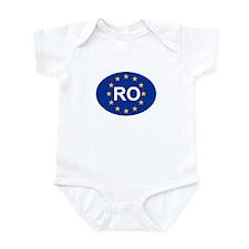 EU Romania Infant Bodysuit