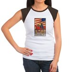 Teamwork Wins Poster Art Women's Cap Sleeve T-Shir