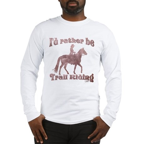 Riding Trails Long Sleeve T-Shirt