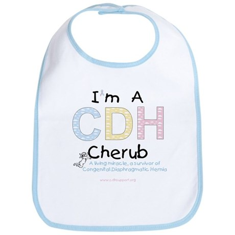 """""""I'm A CDH Cherub"""" Bib"""