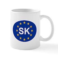 EU Slovakia Mug