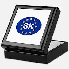 EU Slovakia Keepsake Box