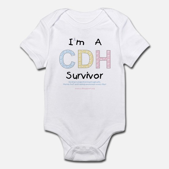 """""""I'm A CDH Survivor"""" Infant Bodysuit"""