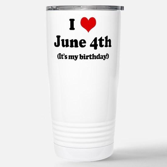 Cute B days Travel Mug