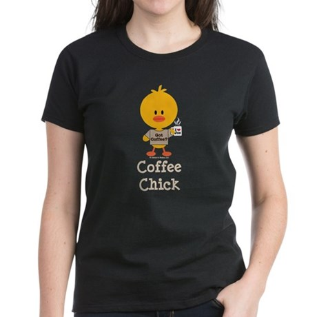 Coffee Chick Women's Dark T-Shirt
