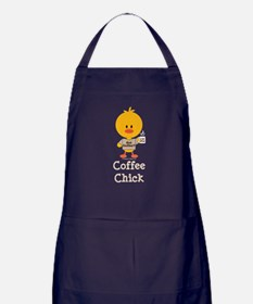 Coffee Chick Apron (dark)