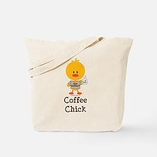 Coffee Chick Tote Bag