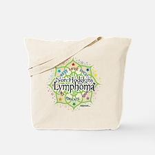 Non-Hodgkins Lymphoma Lotus Tote Bag