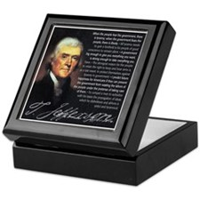 Jefferson: Liberty vs. Tyrann Keepsake Box
