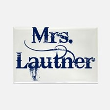 Mrs. Lautner Rectangle Magnet