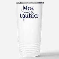 Mrs. Lautner Stainless Steel Travel Mug