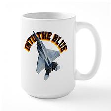 F15 Into the Blue Mug