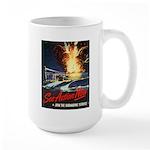 Submarine Service Poster Art Large Mug