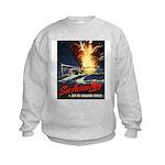 Submarine Service Poster Art Kids Sweatshirt
