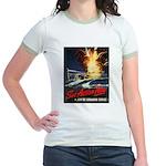 Submarine Service Poster Art Jr. Ringer T-Shirt