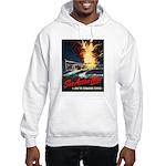 Submarine Service Poster Art Hooded Sweatshirt