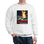 Submarine Service Poster Art Sweatshirt