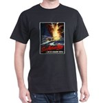 Submarine Service Poster Art (Front) Black T-Shirt