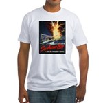 Submarine Service Poster Art Fitted T-Shirt