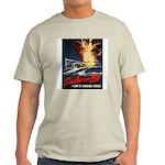 Submarine Service Poster Art Ash Grey T-Shirt