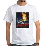 Submarine Service Poster Art White T-Shirt
