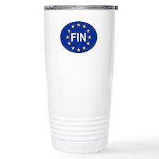 EU Finland Travel Mug