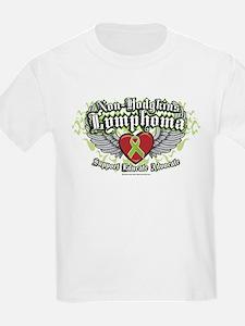 Non-Hodgkins Lymphoma Wings T-Shirt