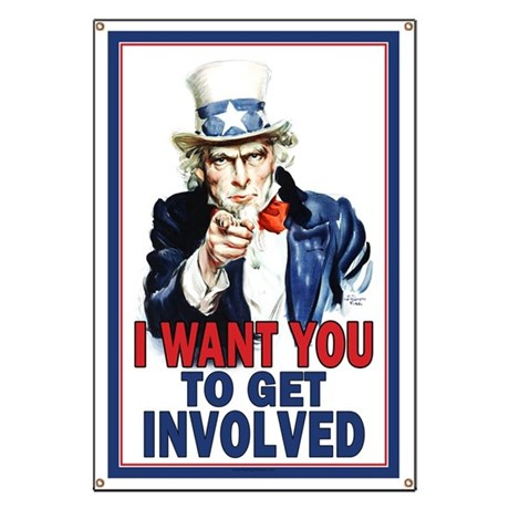 Uncle Sam: Classroom Banner