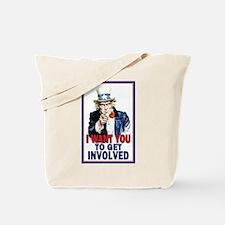 Uncle Sam: Classroom Tote Bag