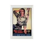 More Nurses Poster Art Rectangle Magnet (10 pack)