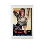 More Nurses Poster Art Rectangle Magnet