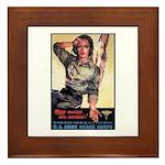 More Nurses Poster Art Framed Tile