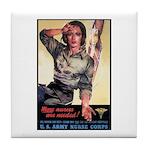 More Nurses Poster Art Tile Coaster
