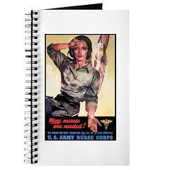 More Nurses Poster Art Journal