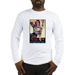 More Nurse Poster Art (Front) Long Sleeve T-Shirt