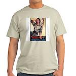 More Nurse Poster Art (Front) Ash Grey T-Shirt