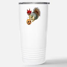 Trick or Treat Squirrel Travel Mug