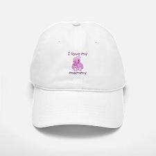 I love my mommy (pink bear) Baseball Baseball Cap