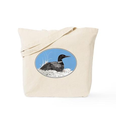 Loon Tote Bag
