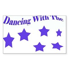 Dancing with the stars - A Sticker (Rectangle 10 p