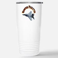 F15 Semper Paratus Stainless Steel Travel Mug