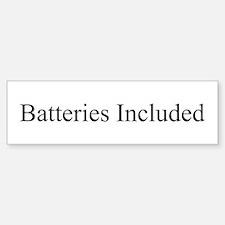 Batteries Included Sticker (Bumper)