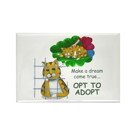 """Make a Dream"" Rectangle Magnet (10 pack)"