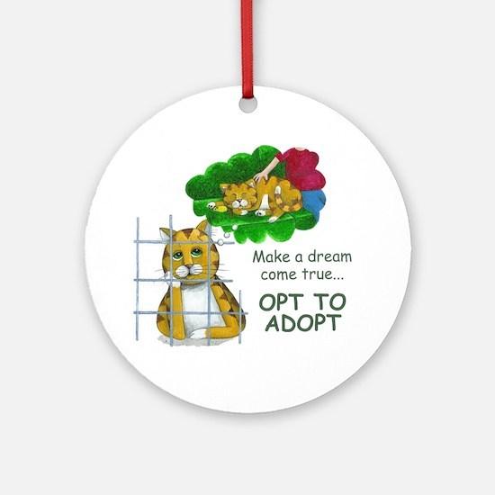 """""""Make a Dream"""" Ornament (Round)"""