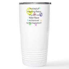 Make Peace/Imagine War Travel Mug