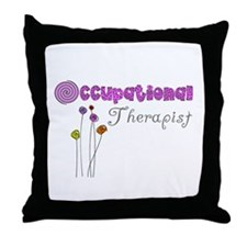 Occupational Therapy Throw Pillow