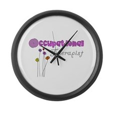 Occupational Therapy Large Wall Clock